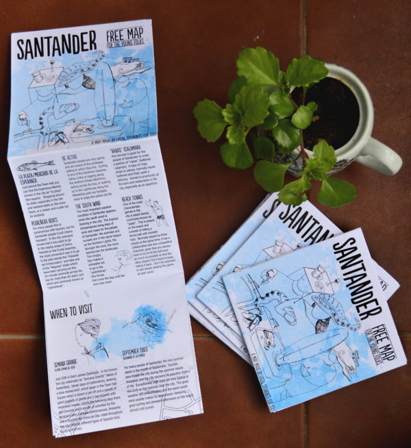 Santander Free Map for the young folks